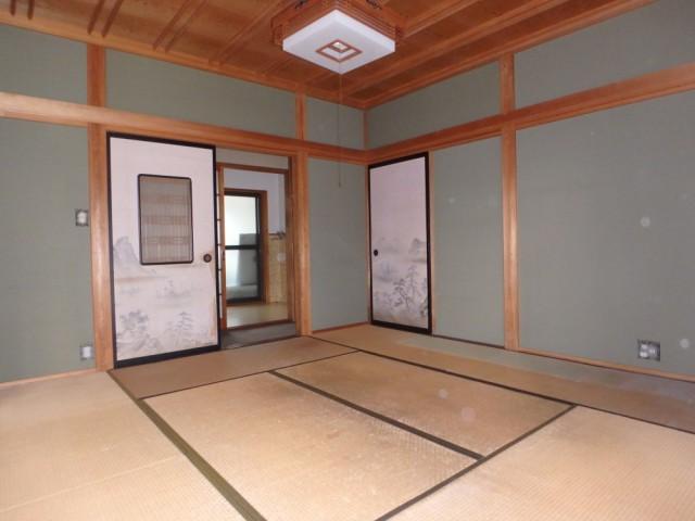 清水さん和室2