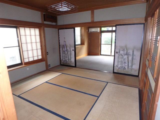 清水さん1階和室